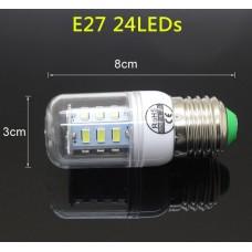 Epistar E27 кукуруза 9W  24 led