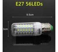 Epistar E27 кукуруза 20W  56 led