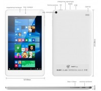 "Cube iwork8 8"" 2gb-32Gb Android+Windows"
