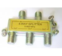 Сплиттер на антену 1вх/4выхода