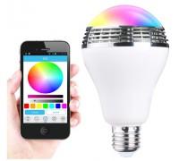 Лампа LED цветная RGB с управлением со смартфона
