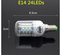 Epistar E14 кукуруза 9W  24 led