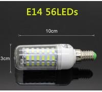 Epistar E14 кукуруза 20W  56 led