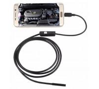 Электронный эндоскоп 7mm длина 2 м ,для смартфона Android