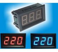 Вольтметр V27AC 75-300 В(белые цифры)