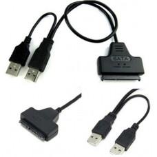 USB 2.0-SATA data+Sata power