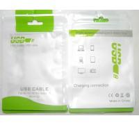 Пакет для упаковки USB кабеля 80х130 мм