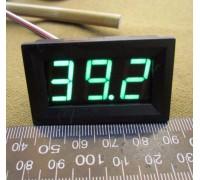 Вольтметр V27DC-B 0-100 В(зеленые цифры)