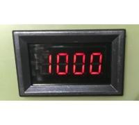 Вольтметр V27DC-D 0-1000 В(красные цифры)