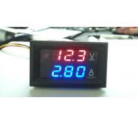 Вольтметр-амперметр DSN-VC288 DC 0-100V/0-10A