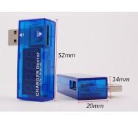 USB Вольтметр DC 3-7,5V +Амперметр 0-2,5 A