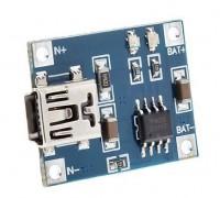 Контроллер заряда на TP4056 вход mini USB