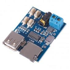 Модуль mp3 декодирования с USB и TF входом
