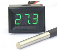 Термометр электронный 12v(зеленые цифры)