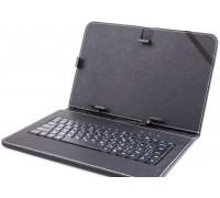 """Чехол для планшета 10"""" с клавиатурой черный"""
