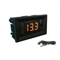Термометр электронный 220В (красные цифры)