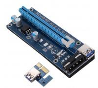 Райзер (выносной слот для видеокарты) с подключением через PCI-E