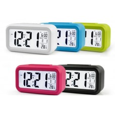 Часы-будильник HL-1019 с датчиком освещенности и температурой