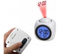 Часы будильник 2028 лазерный проектор,температура