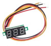 Вольтметр XH-B103 DC 0-100 В (красные цифры)