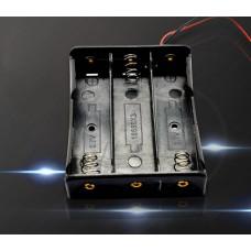 Бокс для аккумуляторов 18650 (3 шт)