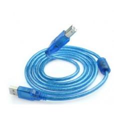 AM/BM на принтер 10 м силикон феррит USB 2.1