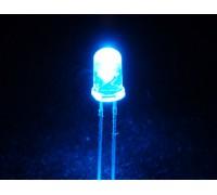 Светодиоды 5 мм синий прозрачный