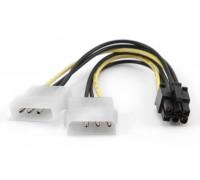 Разветвитель для питания видеокарты PCI Express 6pin