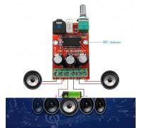 Аудио усилитель XH-M145  2х8 Вт