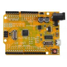 Модуль arduino UNO R3 ATMEGA328P CH340 Micro USB
