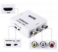 Конвертер HDMI на AV разрешение 1080p