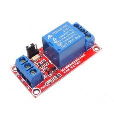 Модуль реле с триггером на оптопаре 5В