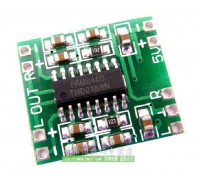 Аудио усилитель на чипе PAM8403 2х3 Вт