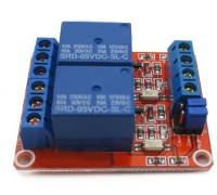 2-х канальный модуль реле с тригером на оптопаре 5В