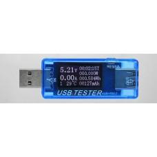 KWS-MX17 USB тестер тока,напряжения,мощности и заряда