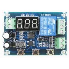 Модуль управления зарядом XH-M608 с индикатором