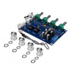 Аудио усилитель XH-M164 на чипе NE5532 мощность 10 W