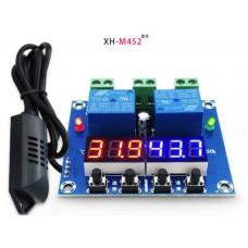 Контроллер XH-M452 температуры и влажности 12 В