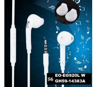 GH59 Handfree вакуумные с микрофоном (белые)