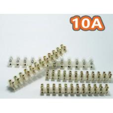 Клеммная колодка  X3-1012 делимая до 10 А , 10 мм кв (цена за 12 секций)
