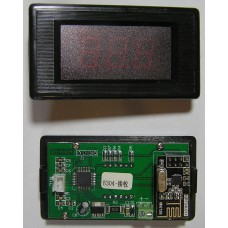 Термометр  беспроводной XH-B304 с двумя экранами (красные цифры) 12 V