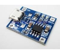 Контроллер заряда на TP4056 вход micro USB