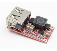Авто зарядное устройство USB DC-DC вход 6-24 V, выход 5V3A