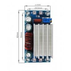 Понижающий  модуль питания XH-M245  Вход 6-30 В Выход 5-30 В