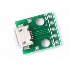 USB-micro разъем на плате