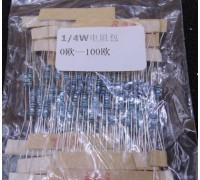 Набор резисторов 13 видов по 10 штук