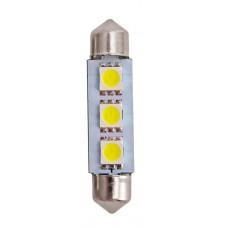 Автолампа светодиодная C5W 41mm-3SMD-5050