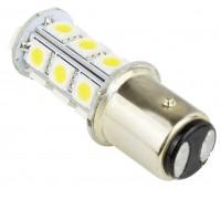 Автолампа светодиодная P21W(1157)-18s5050 на 18 светодиодов (белый и теплый белый)