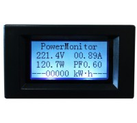 Ваттметр напряжение AC 100-300 В ,ток 0-50 А