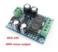 Аудио усилитель XH-M311 на чипе TPA3118 мощность 60 Wt mono
